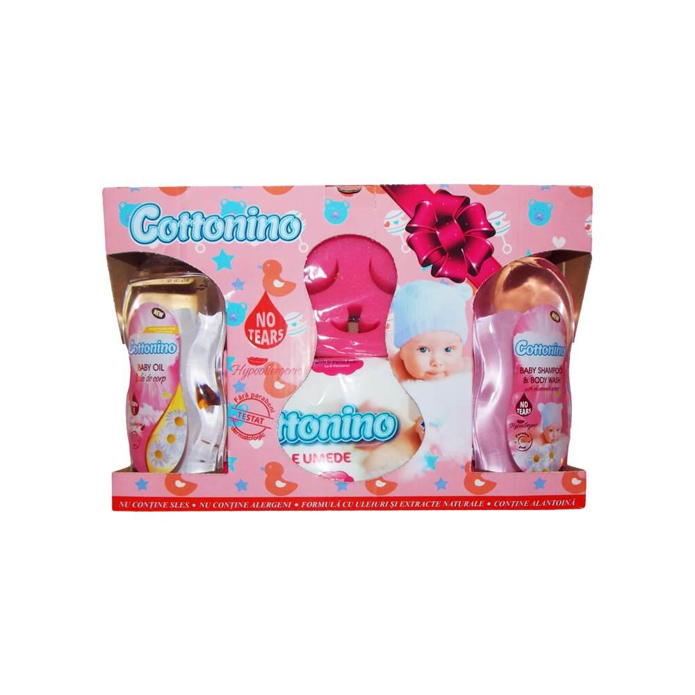 COTTONINO GIFT PACK PINK