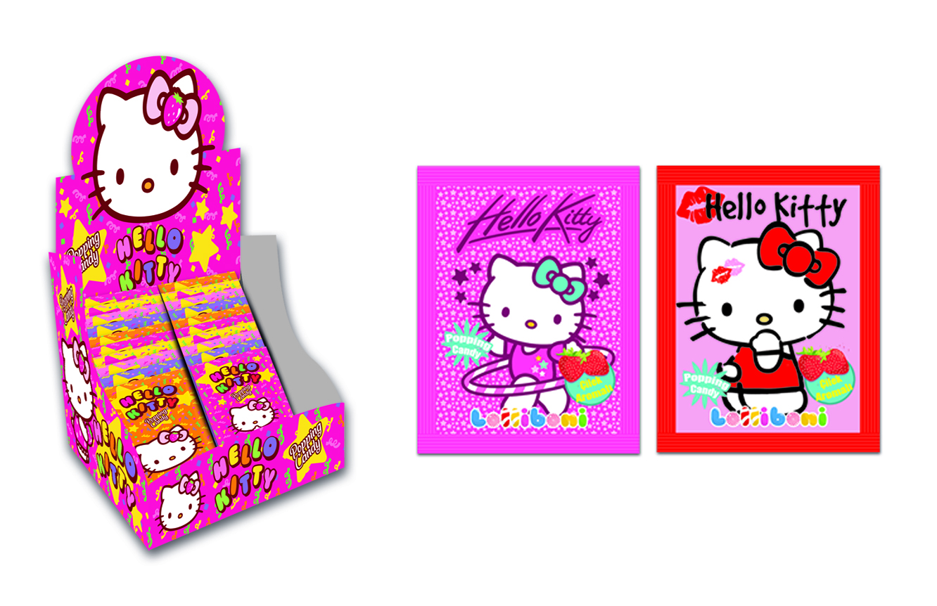 Popping candy Hello Kitty